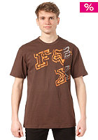 FOX Charmer S/S T-Shirt dark brown