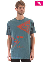 FOX Colliding Premium S/S T-Shirt maui blue