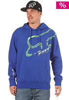 FOX Cramped Fleece Hooded Sweat tech blue