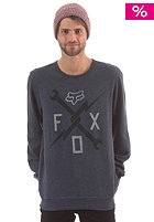 FOX Crosswrench Crew Fleece heather navy