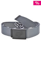 FOX Decadence Web Belt charcoal