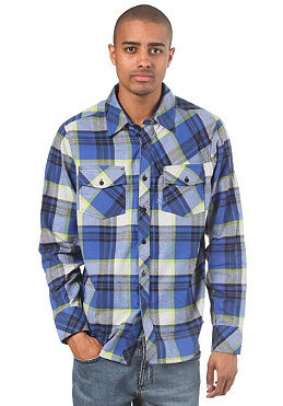 FOX Decker L/S Flannel tech blue