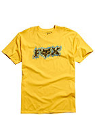 FOX Draggy S/S T-Shirt yellow