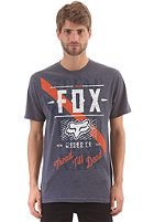 FOX Dunkel S/S T-Shirt heather navy