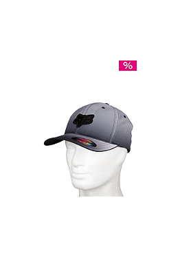 FOX Faded Flexfit Cap white/black