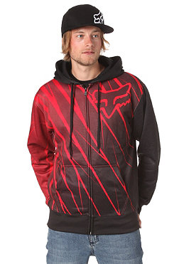 FOX Future Hooded Zip Sweat red