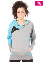 FOX Girls Exhaust Hooded Sweat Crystal Blue