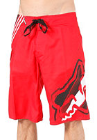 FOX Hashed Boardshort flame red