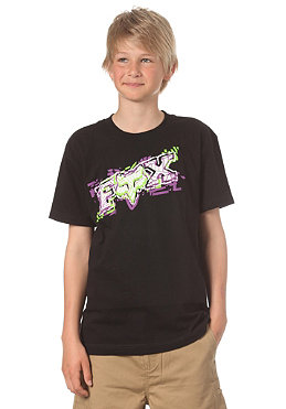 FOX KIDS/ Boys Alarmed S/S T-Shirt black