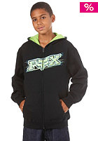FOX KIDS/Boys Chemistry Fleece Hooded Zip black