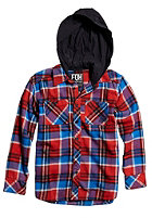 FOX Kids Dane Flannel L/S Shirt flame red
