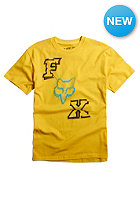 FOX Kids Frame Bender S/S T-Shirt yellow