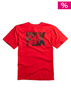 FOX Kids Lurching S/S T-Shirt red