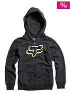 FOX Kids Tract Hooded Zip Sweat black