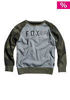 FOX Kids Tresspass Crew Sweat heather graphite