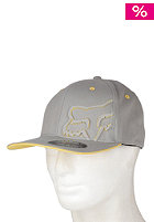 FOX Longo Flexfit Cap grey/yellow