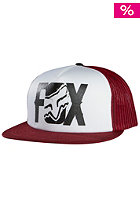 FOX Lurching Snapback Cap white