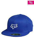 FOX Over Joy 210 Fitted Flexfit Cap blue/white
