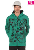 FOX Problem Unsolved Hooded Zip Sweat emerald