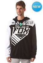 FOX Racer Hooded Zip Sweat black