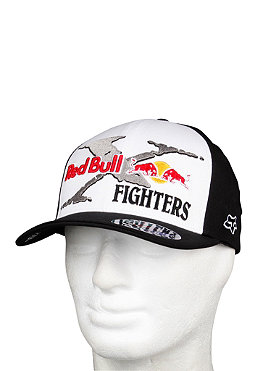 FOX Reb Bull Xfighters Core Flexfit Cap black/white