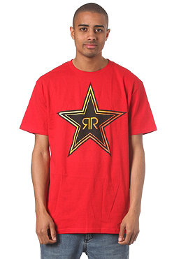 FOX Rockstar Fade S/S T-Shirt red