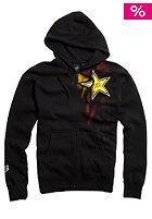 FOX Rockstar Faded Hooded Zip Sweat black