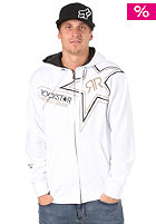 FOX ROCKSTAR/ Golden Hooded Zip Sweat white
