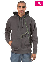 FOX RPM Hooded Zip Sweat heather charcoal