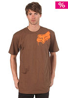 FOX Stenciled Head S/S T-Shirt cocoa