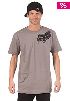 FOX Stenciled Head S/S T-Shirt dark grey