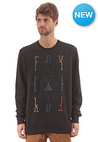 FOX Stripped Down Crew Fleece heather black