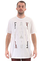 FOX Stripped Down Premium S/S T-Shirt white