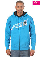 FOX Super Faster Hooded Zip Sweat electric blue