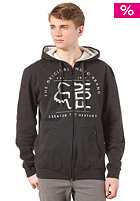 FOX Suspend Hooded Zip Sweat heather black