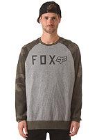 FOX Tresspass Crew Sweat heather graphite