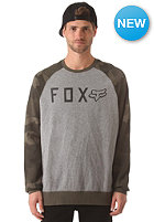 FOX Tresspass Crew Sweat heather graphite