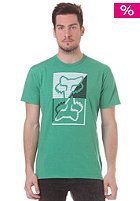 FOX Wily S/S T-Shirt heather green