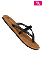 FREEWATERS Womens Taxi Sandals black/tan