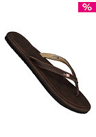 FREEWATERS Womens Vezpa Sandals brown