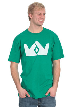 FRENDS Crown Logo S/S T-Shirt teal/white