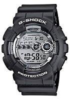 G-SHOCK GD-100BW-1ER black/silver