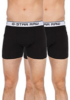 G-STAR 3301 Light Stretch Jersey Boxershorts Double Pack black