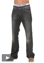 G-STAR 3301 Loose Pant force black denim dark aged