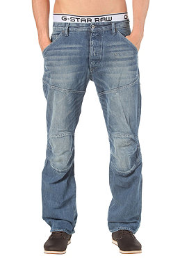 G-STAR 5620 3D Loose Pant wheel denim medium aged