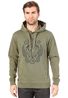 G-STAR Aero Altitude Hooded Sweat sage