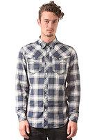G-STAR Arc 3D L/S Shirt olson check - deep sea blue