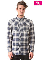 G-STAR Arc 3D L/S Shirt olson check - deep sea blue
