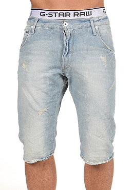 G-STAR Arc Loose Tapered Short hatch denim lt aged