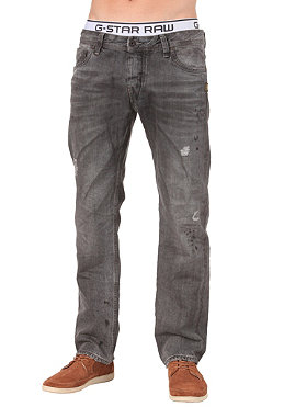 G-STAR Attacc Low Straight Pant Azari Black Denim medium aged